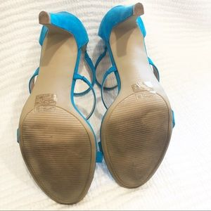 Kelly & Katie Shoes - Bright blue Kelly & Katie high heel sandals 8.5